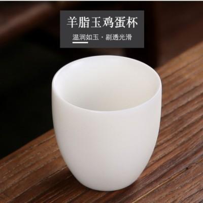 主人杯/茶杯/羊脂玉瓷杯/白瓷茶杯/白瓷茶具/瓷杯/个人杯