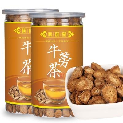 谯韵堂 黄金牛蒡茶 罐装盒装 圆片斜片 牛蒡荼 牛蒡根茶 一件代发