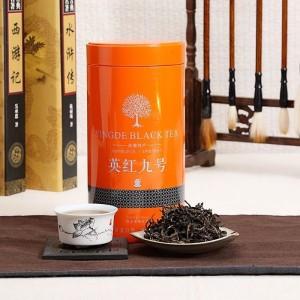 2020英德红茶英红九号浓香型功夫红茶一级礼品罐装茶叶150g