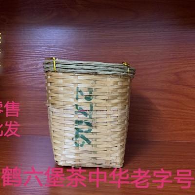 梧州茶厂三鹤六堡茶2017年陈化  2706  1千克茶叶黑茶