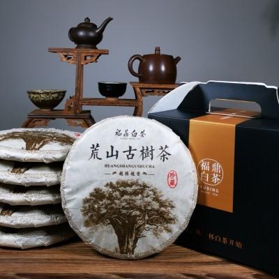 6饼礼盒装.2010年荒山老白茶