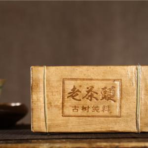 2010年老茶头砖糯香熟茶规格:500g/片