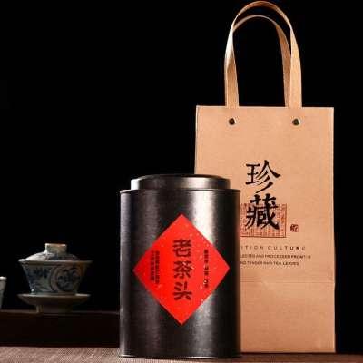 2001年的易武古树陈年老茶头 珍藏版 500克