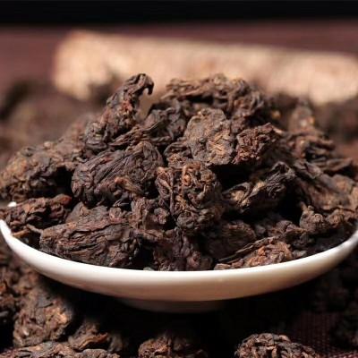 老茶头普洱10年以上勐海普洱茶散装500g