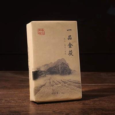 安化黑茶正宗金花茯砖茶叶1kg
