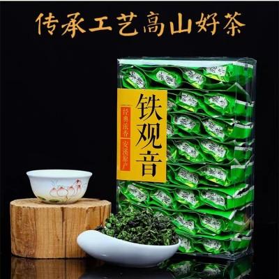 茶叶新茶 铁观音高山浓香型礼盒装小袋散袋乌龙茶500g