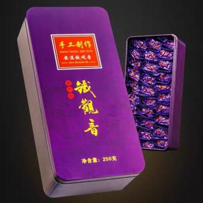 春茶安溪铁观音茶叶浓香型兰花香乌龙茶叶礼盒装500g溪露