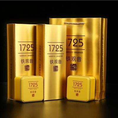 铁观音浓香型 乌龙茶叶安溪春茶1725散装礼盒装送礼500克