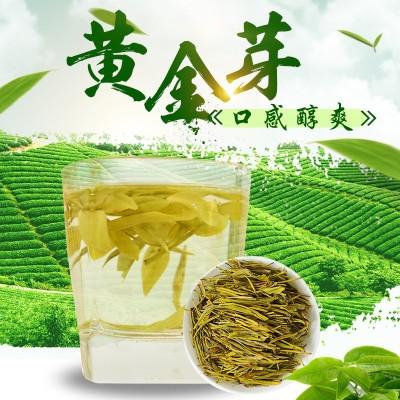 2021年新茶安吉白茶黄金芽明前特级250g散装批发黄金叶安吉白茶礼盒