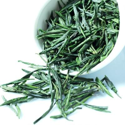 2020新茶雨前雀舌茶片四川雅安绿茶散装500g产地货源