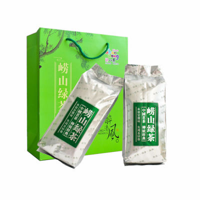青岛崂山绿茶豆香贵一点好很多茶叶新茶新茶250g/500g包邮