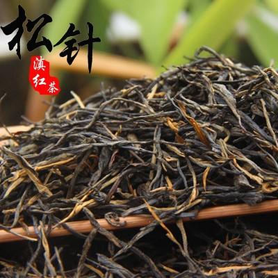 2020年云南滇紅茶叶500g蜜香松针滇红茶 一芽一叶直条凤庆滇红茶