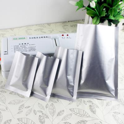 纯铝箔袋三边封袋加厚食品真空袋干果包装袋茶叶封口袋密封袋